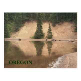 Carl Lake reflections Postcard