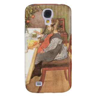 Carl Larsson A Late Risers Miserable Breakfast Galaxy S4 Case