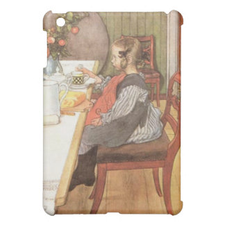 Carl Larsson A Late Risers Miserable Breakfast Cover For The iPad Mini