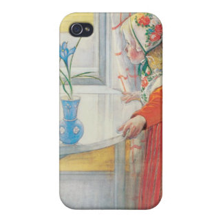 Carl Larsson - Anna and the Crocus Iphone Case