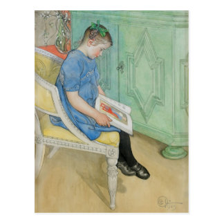 Carl Larsson - Anna-Johanna Postcard