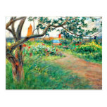 Carl Larsson art: Landscape at Marstrand Post Card
