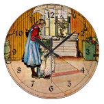 Carl Larsson art: The Kitchen Wallclock