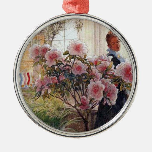 Carl Larsson - Azaleas Ornaments
