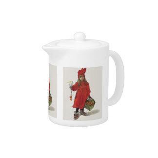 Carl Larsson Brita as Iduna Little Swedish Girl Teapot