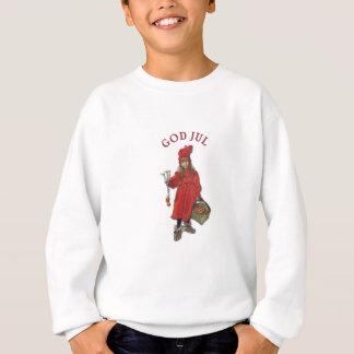 Carl Larsson: Brita as Iduna Saying Merry Christma Sweatshirt