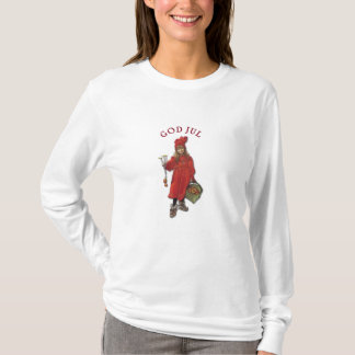 Carl Larsson: Brita as Iduna Says God Jul T-Shirt