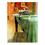 Carl Larsson: Brita at the Piano Postcard