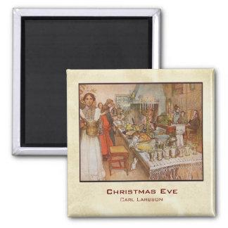 Carl Larsson Christmas Eve Magnet