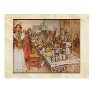 "Carl Larsson ""Christmas Eve"" Post Cards"