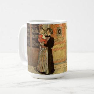 Carl Larsson Christmas Time Home Mug