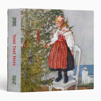 "Carl Larsson Christmas Tree 1.5"" Binder"