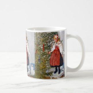 Carl Larsson Christmas Tree Swedish Art Holiday Coffee Mug