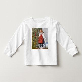 Carl Larsson Christmas Tree Top Tee Shirt