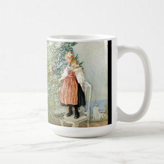 Carl Larsson Christmas Tree Trimming Costume Mug