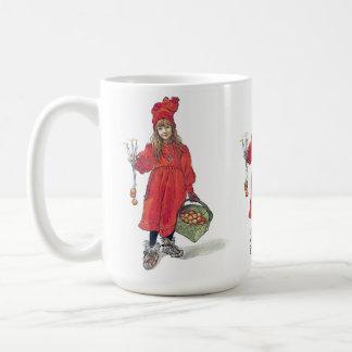 Carl Larsson Daughter Brita Christmas Costume Mug