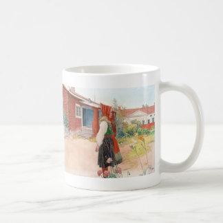 Carl Larsson el escandinavo casero de Falun Taza