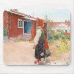 Carl Larsson - el hogar de Falun Alfombrillas De Ratón