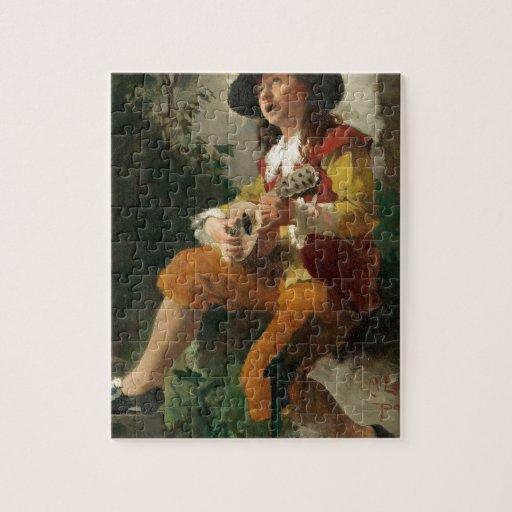 Carl Larsson el Sprite de agua Rompecabezas Con Fotos