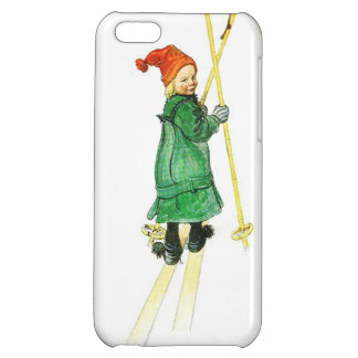Carl Larsson Esbjorn On Skis Cover For iPhone 5C