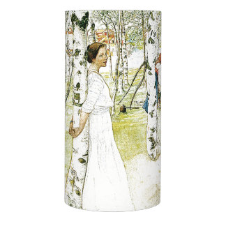Carl Larsson Family Breakfast Flameless Candle