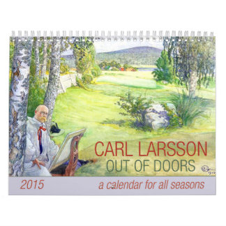 Carl Larsson fuera del calendario de las puertas
