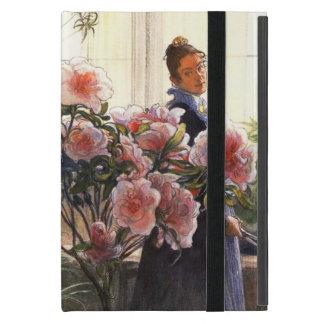 Carl Larsson Karin y azaleas iPad Mini Cárcasas