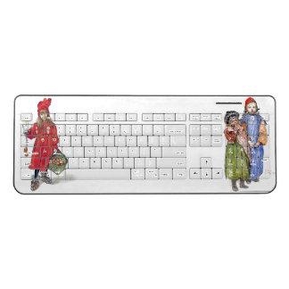 Carl Larsson Kids Portrait Paintings Keyboard