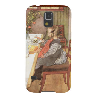 Carl Larsson Late Risers Breakfast Swedish Galaxy S5 Cases