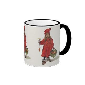 Carl Larsson Little Swedish Girl: Brita as Iduna Ringer Mug