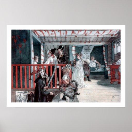 Carl Larsson Name Day Fine Art Print