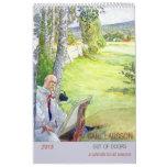 Carl Larsson Out of Doors 2015 Calendar