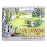 Carl Larsson Out of Doors 2016 Calendar