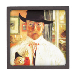Carl Larsson  Self Recognition Gift Box