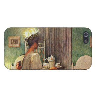Carl Larsson St. Lucia Day Christmas in Sweden Case For iPhone SE/5/5s