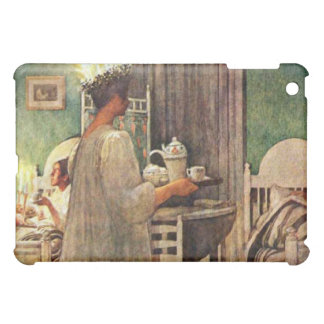 Carl Larsson St. Lucia Day Christmas in Sweden iPad Mini Cases