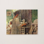 Carl Larsson St. Lucia Day Christmas in Sweden Puzzles