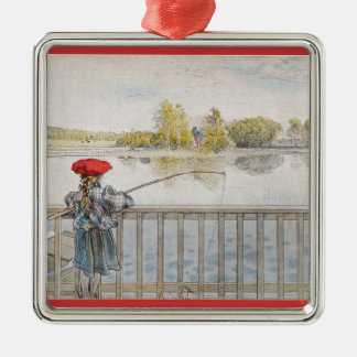 Carl Larsson Swedish Families and Children Metal Ornament