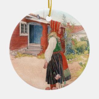 Carl Larsson  The Falun Home Ceramic Ornament