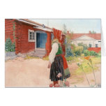 Carl Larsson - The Falun Home Greeting Cards