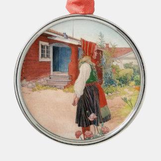 Carl Larsson  The Falun Home Metal Ornament