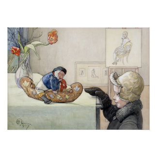Carl Larsson The Funny Fellow 1917 Poster