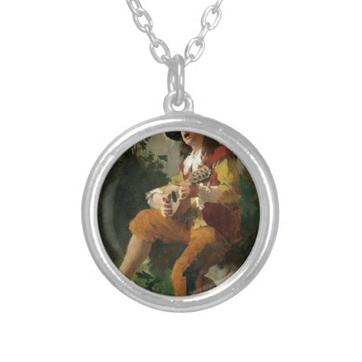 Carl Larsson The Water Sprite Personalized Necklace