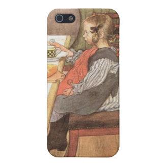 Carl Larsson un desayuno desgraciado de las iPhone 5 Carcasas