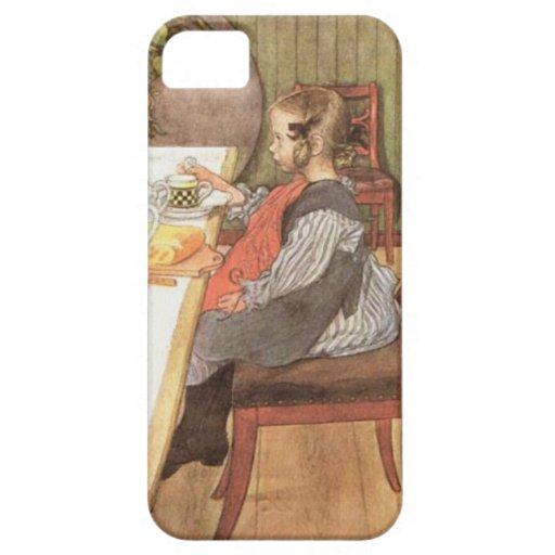 Carl Larsson un desayuno desgraciado de las última iPhone 5 Case-Mate Carcasa