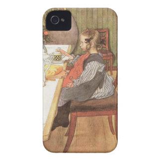Carl Larsson un desayuno desgraciado de las última iPhone 4 Case-Mate Carcasas