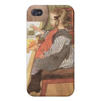 Carl Larsson un desayuno desgraciado de las última iPhone 4 Protector