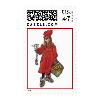 Carl Larsson's Brita as Iduna Postage