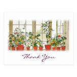 Carl Larsson's Thank You Postcard