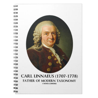 Carl Linnaeus Father Of Modern Taxonomy Notebook